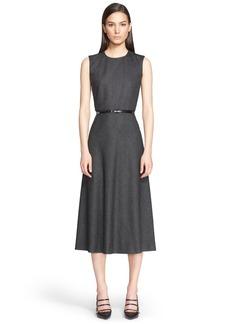 Max Mara 'Agi' A-Line Midi Dress