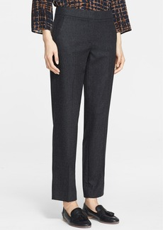 Max Mara 'Agnone' Wool & Cashmere Ankle Pants
