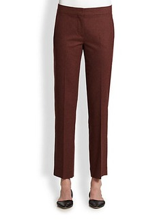 Max Mara Agnone Wool Flannel Pants