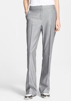 Max Mara 'Alessia' Straight Leg Wool & Silk Pants