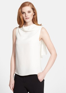Max Mara 'Aminta' Sleeveless Silk Blouse