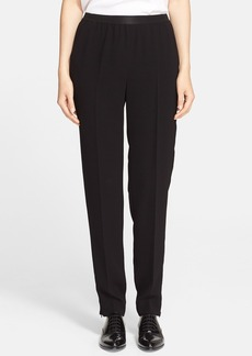 Max Mara 'Austero' Ankle Zip Cady Pants