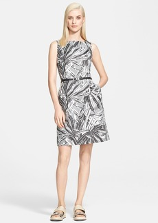 Max Mara 'Belgio' Print Sleeveless Sheath Dress