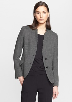 Max Mara 'Bleu' Wool Two-Button Jacket