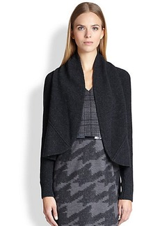 Max Mara Blingy Wool/Cashmere Open Cardigan