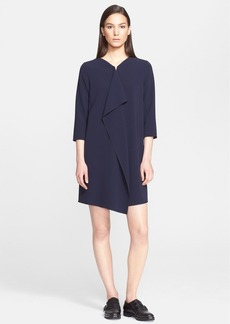 Max Mara 'Bocca' Elbow Sleeve Cady Dress