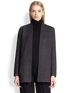 Max Mara Cairo Reversible Tweed Jacket