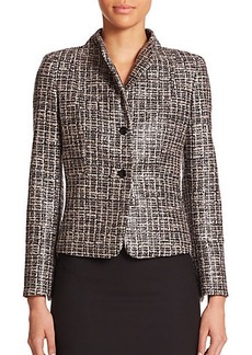 Max Mara Calesse Coated Tweed Jacket