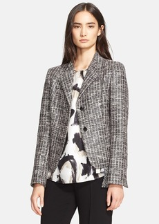 Max Mara 'Calesse' Cotton Blend Tweed Jacket