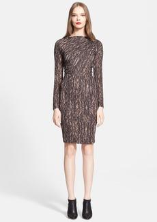 Max Mara 'Calesse' Print Jersey Dress