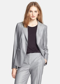 Max Mara 'Carlos' One-Button Jacket