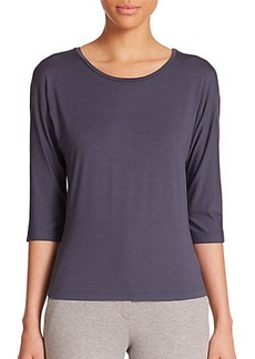 Max Mara Circe Stretch Jersey Top