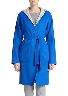 Max Mara Ciro Belted Wool Coat