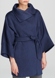 Max Mara Coat - Urta Doppio Cashmere Melange Kimono Sleeve