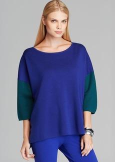 Max Mara Color Block Sweater - Ginepro
