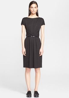 Max Mara 'Dinar' Wrap Detail Jersey Dress