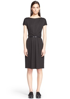 Max Mara 'Dinar' Wrap Detail Jersey Dress