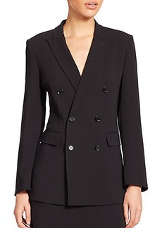 Max Mara Dolly Double-Breasted Stretch Wool Jacket