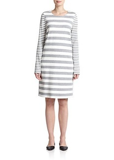 Max Mara Edile Mixed-Stripe Shift