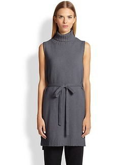 Max Mara Fausta Belted Knit Tunic