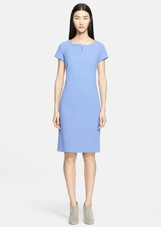 Max Mara 'Fiamma Doppio' Wool Crepe Dress