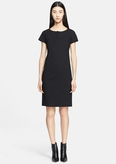 Max Mara 'Fiamma' Wool Crepe Dress
