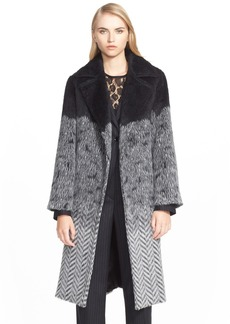 Max Mara 'Flash' Alpaca Wool Blend Wrap Coat