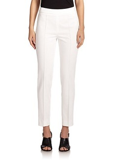 Max Mara Furetto Stretch-Cotton Ankle Pants