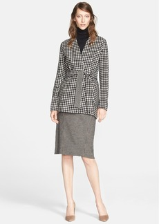 Max Mara 'Geisha' Reversible Wool & Cashmere Wrap Jacket