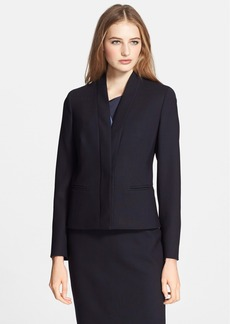 Max Mara 'Holly' Double Crepe Jacket