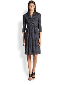 Max Mara Jersey Wrap Dress