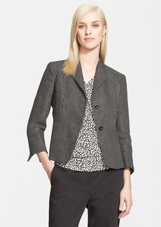 Max Mara 'Lanoso' Two-Button Jacket