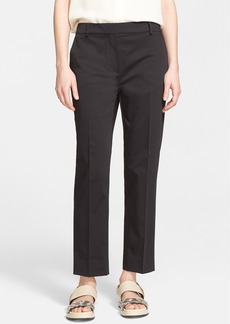 Max Mara 'Lucas' Stretch Cotton Ankle Pants