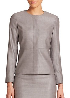 Max Mara Martin Wool & Silk Jacket