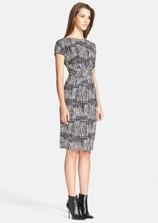Max Mara 'Memo' Print Jersey Dress