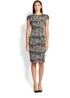 Max Mara Memo Printed Jersey Dress