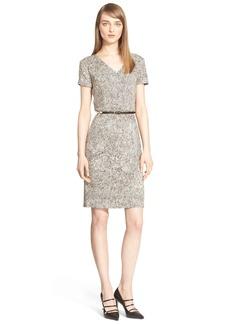 Max Mara 'Micena' Short Sleeve Print Jersey Dress