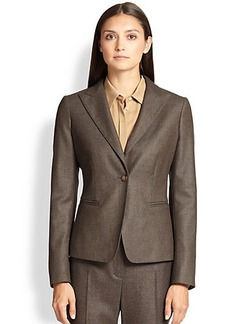 Max Mara Olinda Wool & Silk Blazer