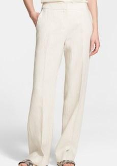 Max Mara 'Orefeo' Wide Leg Linen Pants