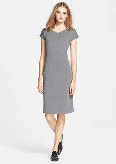 Max Mara 'Ottavo' Jersey Sheath Dress