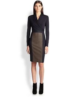 Max Mara Paneled Dress