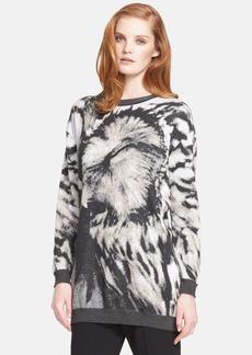 Max Mara 'Party' Long Jacquard Sweater