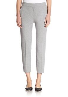 Max Mara Pegno Cropped Jersey Pants