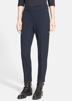 Max Mara 'Pegno Dopio' Slim Jersey Crop Pants