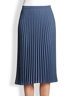 Max Mara Pleated Midi Skirt