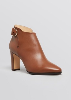 Max Mara Pointed Toe Booties - Ornati High Heel