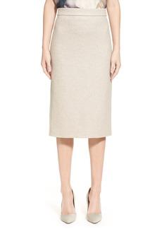 Max Mara 'Rada' Jersey Pencil Skirt