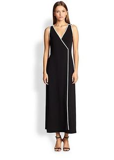 Max Mara Rotondo Piped Jersey Dress