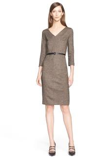 Max Mara 'Rupia' Wool Sheath Dress
