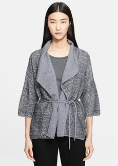 Max Mara 'Samara' Tweed Knit Cardigan Jacket